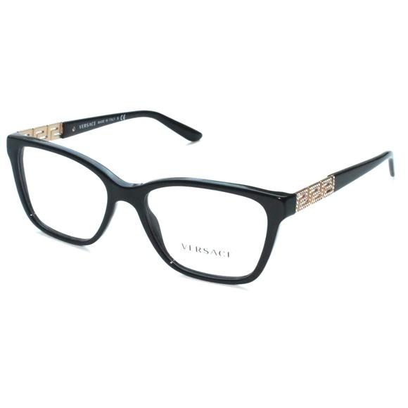23e5092d41fd Versace Accessories - Versace Eyeglasses 3192-B GB1 52 16 140 Black
